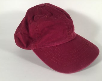 fbd64502c8e57 Plain Light Burgundy Dad Hat