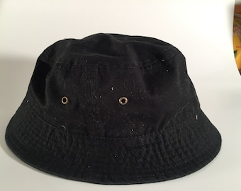 aec7c57a668 Black Gelante Bucket Hat - Size L XL