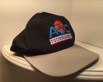90s Black and Grey ACC Tournament Snapback d0dc6c11d161