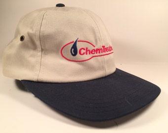 White Chemtreat 90s Snapback