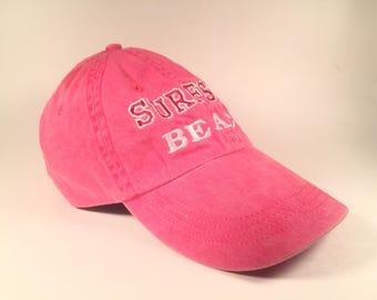 Pink Surfside Beach Hat