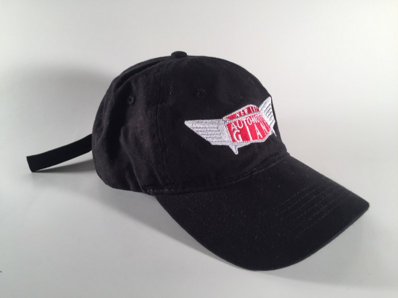 a58eb52bb Black New York Auto Giant Dad Hat Strapback