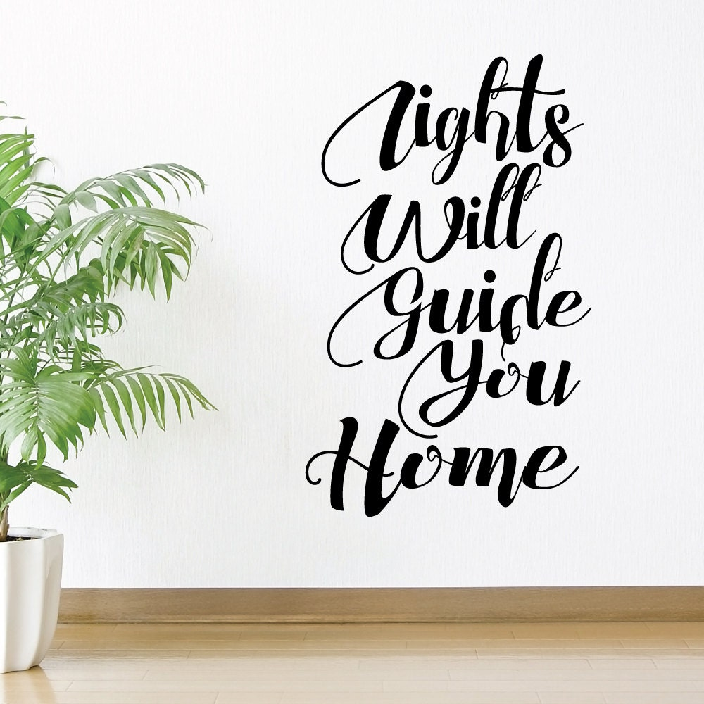 Attractive Coldplay Lights Will Guide You Home Lyrics Embellishment ...