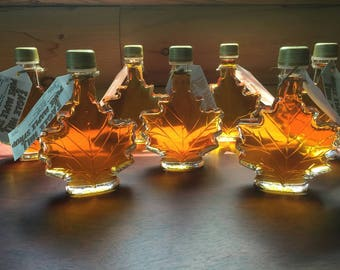 Maple Syrup in Maple Leaf bottle (quantity of 30)