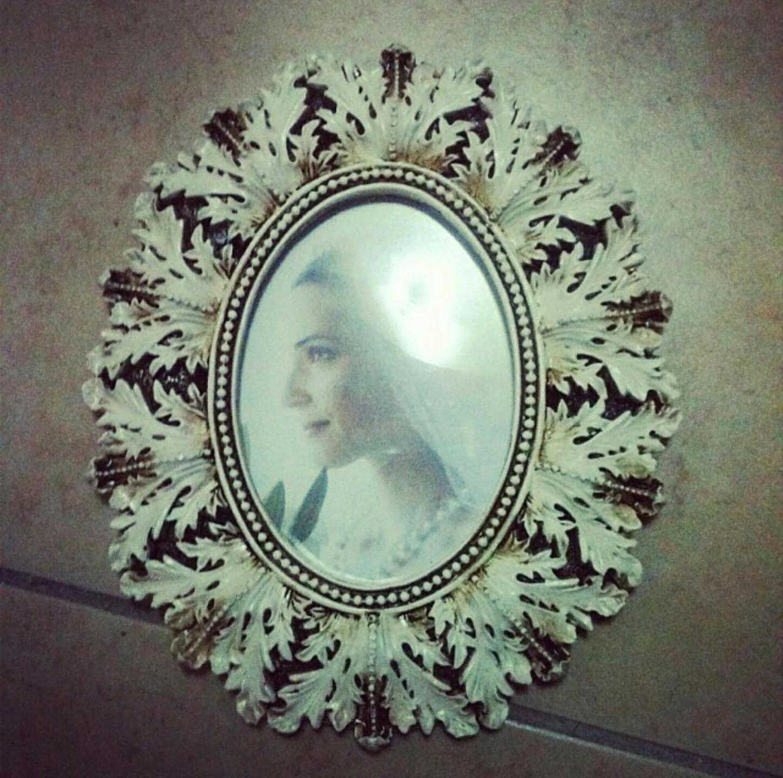 Moule en Silicone pour Cadre Cadre Cadre photo Miroir Feuilles 23cm Vintage Pâte Polymère Fimo Plâtre WEPAM Résine Cire Polyester Ciment 32032f