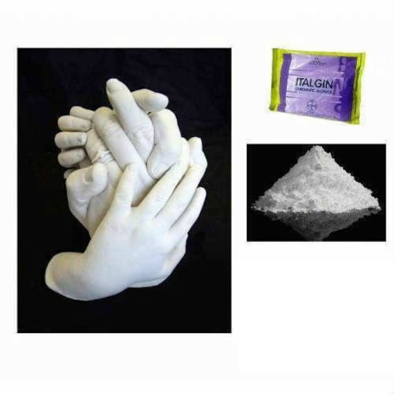 450 gram Alginate for mold casting hand foot print for Dad, MOM or baby  adult