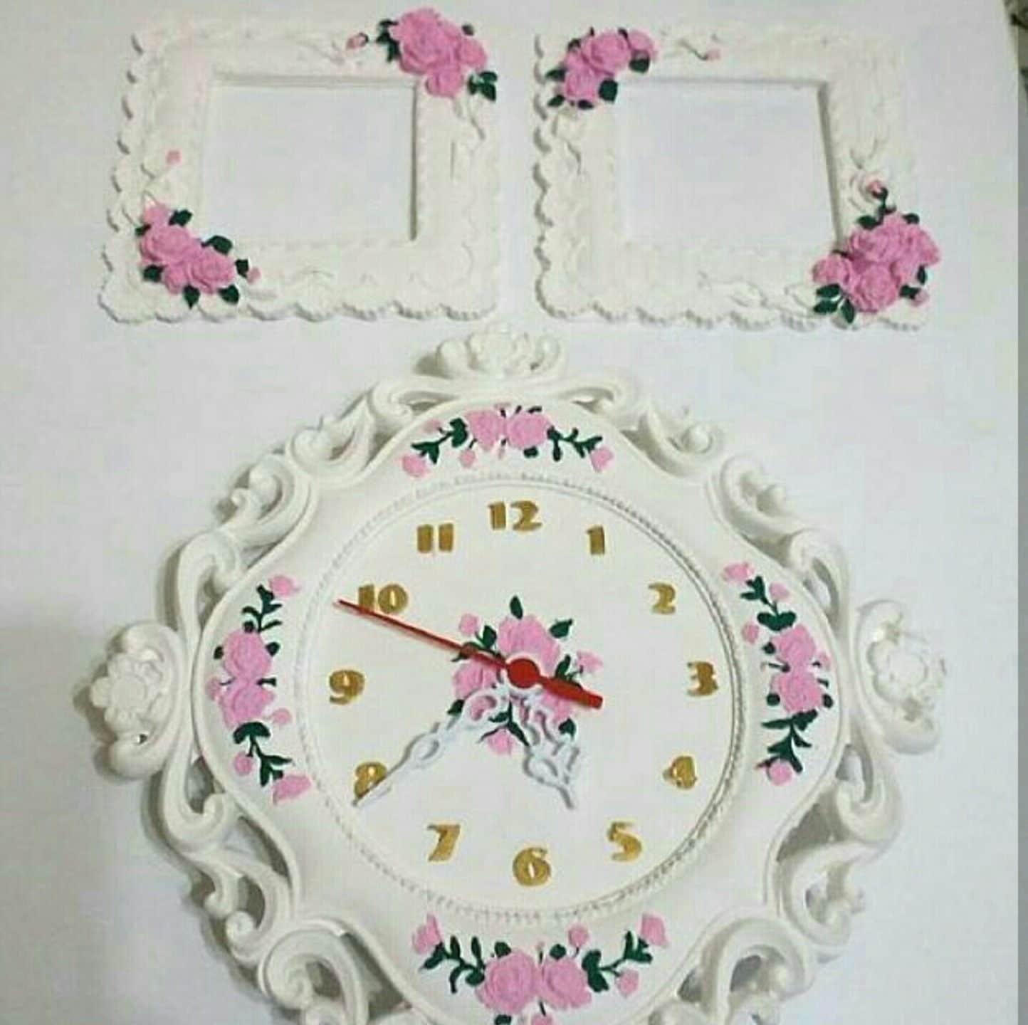 Grand Moule en Silicone 26x26cm Fleur MONTRE Vintage Pâte Pâte Pâte Polymère Fimo Platre Argile Savon Cire Resine + Systeme Mecanique Horloge OFFERT ! de2dce
