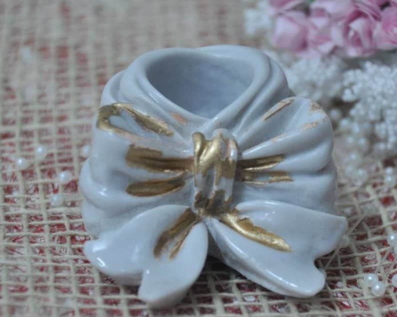 Silicone mold candle holder knot candle holder for plaster porcelain SOAP Fimo clay K203 HK resin wax Fimo polymer clay