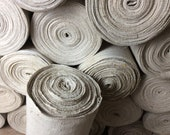 Linen Bales from an Old Mill - Rustic Hemp Linen 1880s - Heavy Handwoven Linen - Grain Sack Linen
