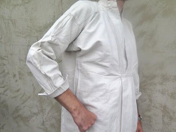 Linen Work Shirt - Farmers historical linen shirt