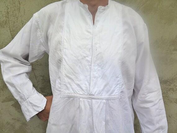 Linen Shirt - French Farmhouse Shirt -  Linen Shir