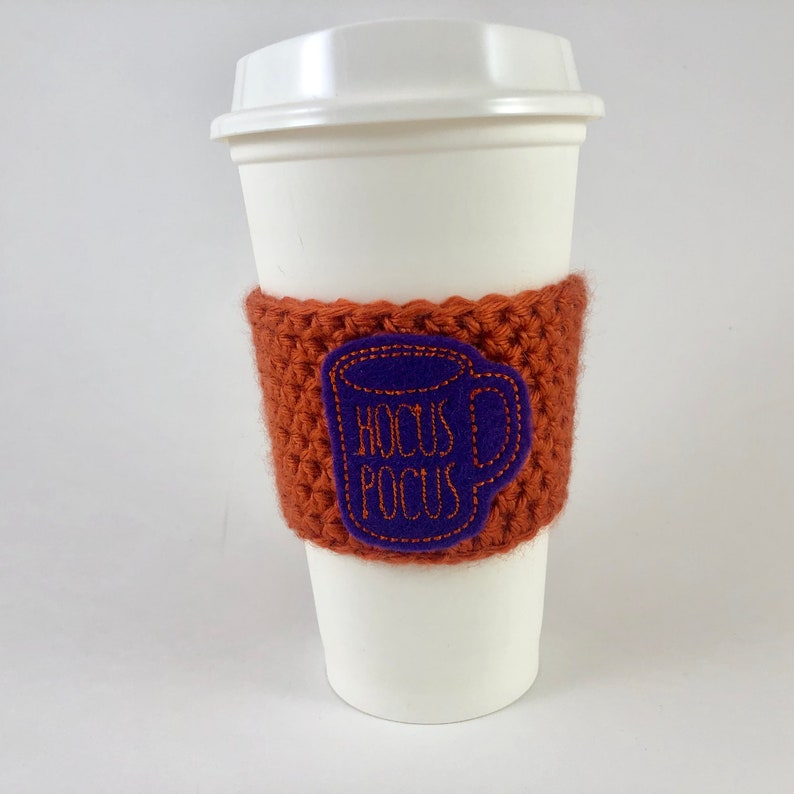 Hocus Pocus Rae Dun Inspired Mug Coffee Cup Cozy / Crochet image 0