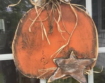 Primitive Fall Pumpkin