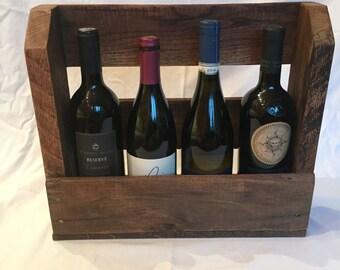 Reclaimed Palette Wine Rack