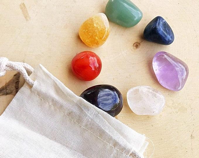 Chakra Reiki Healing Crystal Set