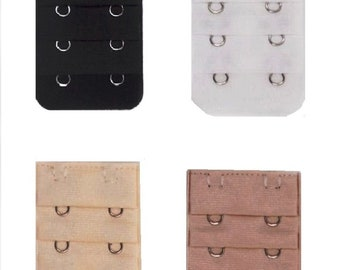 e49e9c7f49 Set of 4 Bra Extender 2 Hooks Wide Extensions