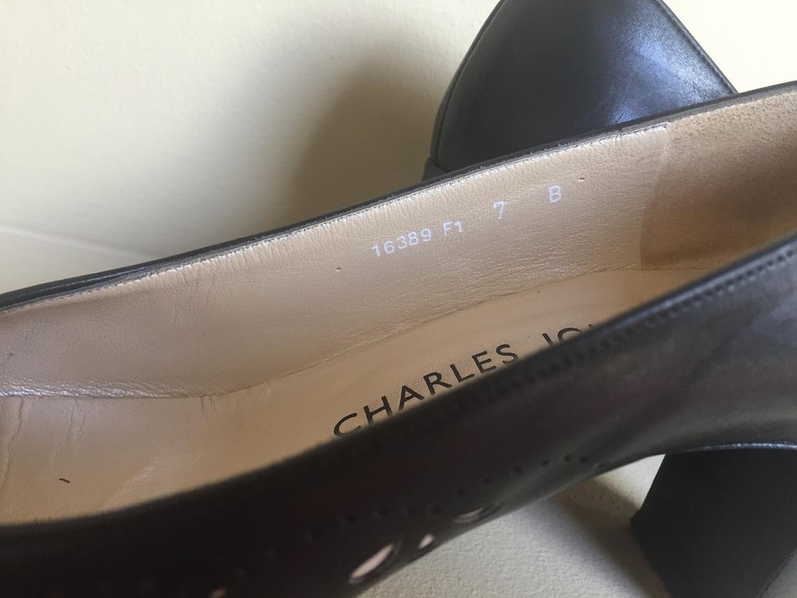 escarpins Charles Jourdan Paris Made in France court shoes pump