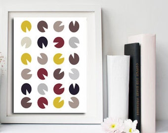 Geometric wall decor, office prints, Nordic art print, 8x10 print abstract, prints wall art scandinavian, printable abstract art, art print