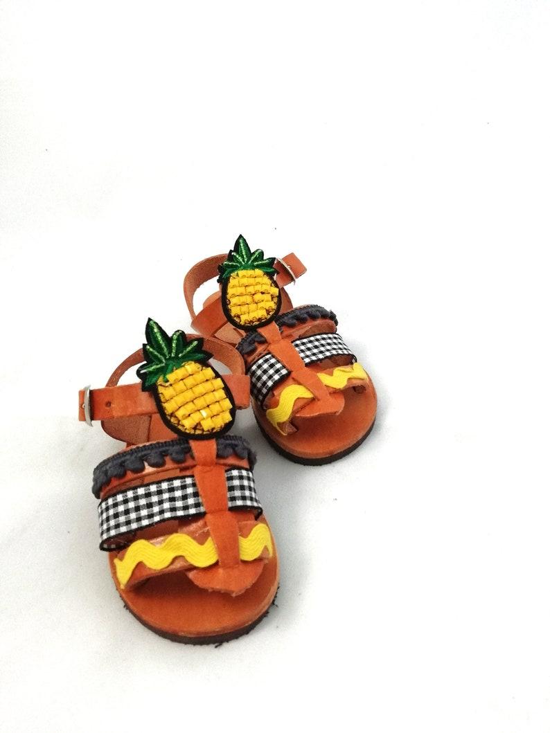 菠萝婴儿鞋