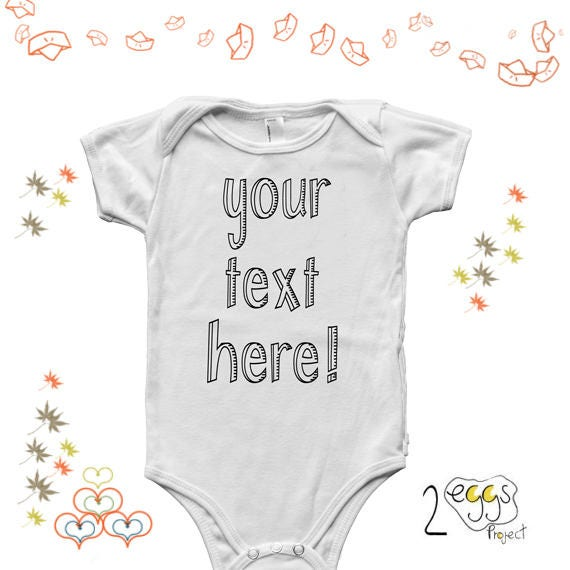 f2d79c059b1 Your text here baby onesie custom baby onesie your logo here