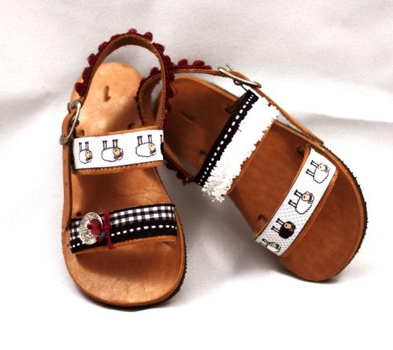 Ethnic sandals for kids Boho sandals