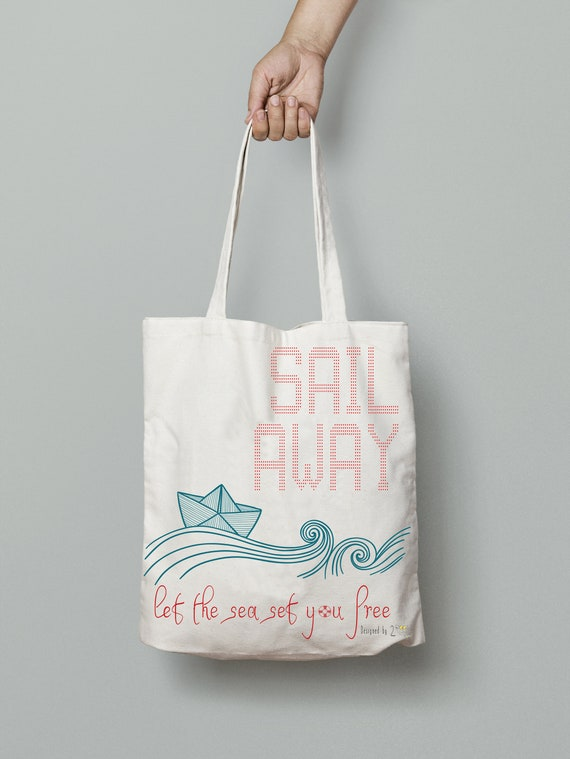 Beach tote bags for women Canvas print tote bag with paper  6df174773d