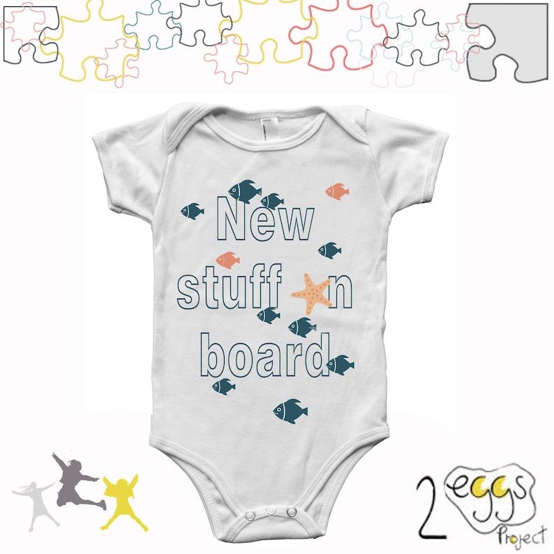 Spullen Voor Baby.Nieuwe Spullen Aan Boord Vis Baby Thema Nieuwe Papa Cadeau Etsy