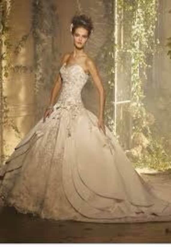 Fairy Tale Wedding Dress Cathedral Train Wedding G