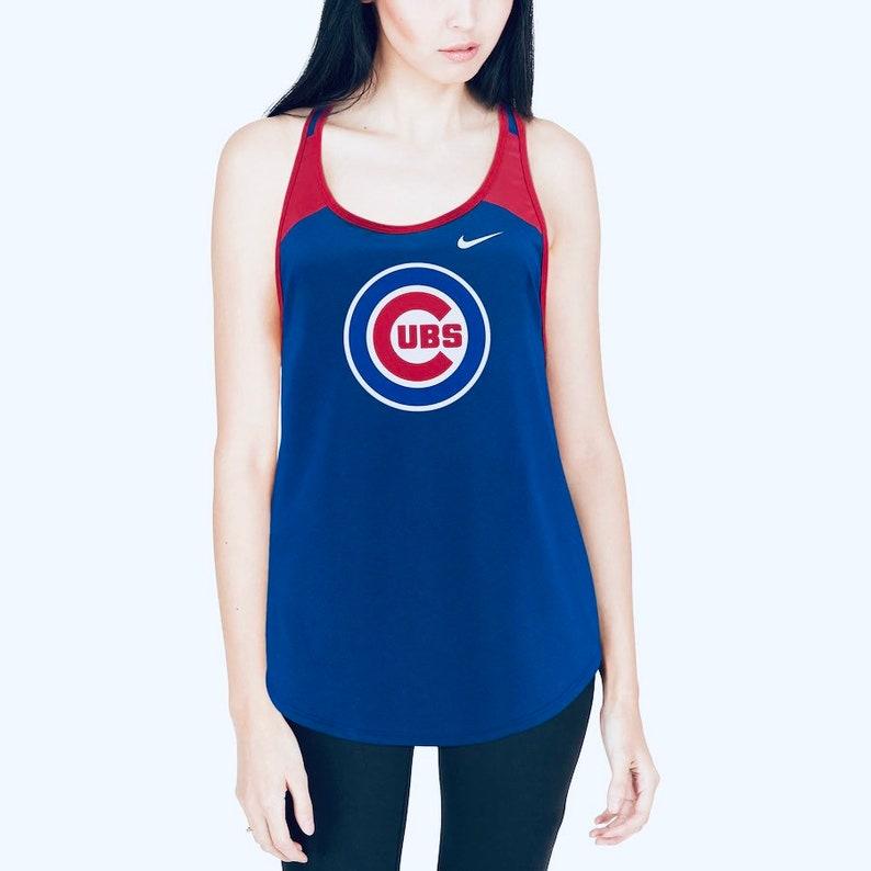 Medium Cubs Tank Womens Activewear