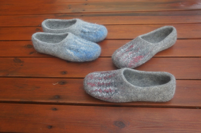 40a69de17641a Felted slippers Felted clogs Other colors Women clogs Organic slippers  Women wool clogs Women felt slippers slippers Slippers Wool slippers