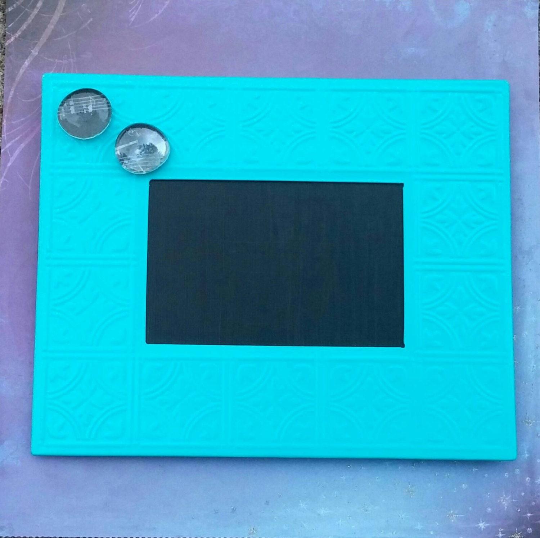 Magnetic Framed Chalkboard decorative Magnetic metal | Etsy