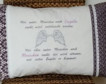 "Cushion ""Angel"""