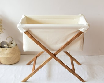 Wood Bassinet Etsy