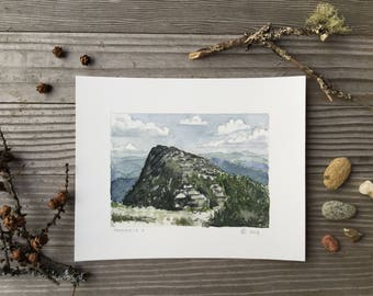Giclee print, Mansfield II, Green Mountains, Vermont by Zarabeth Duell