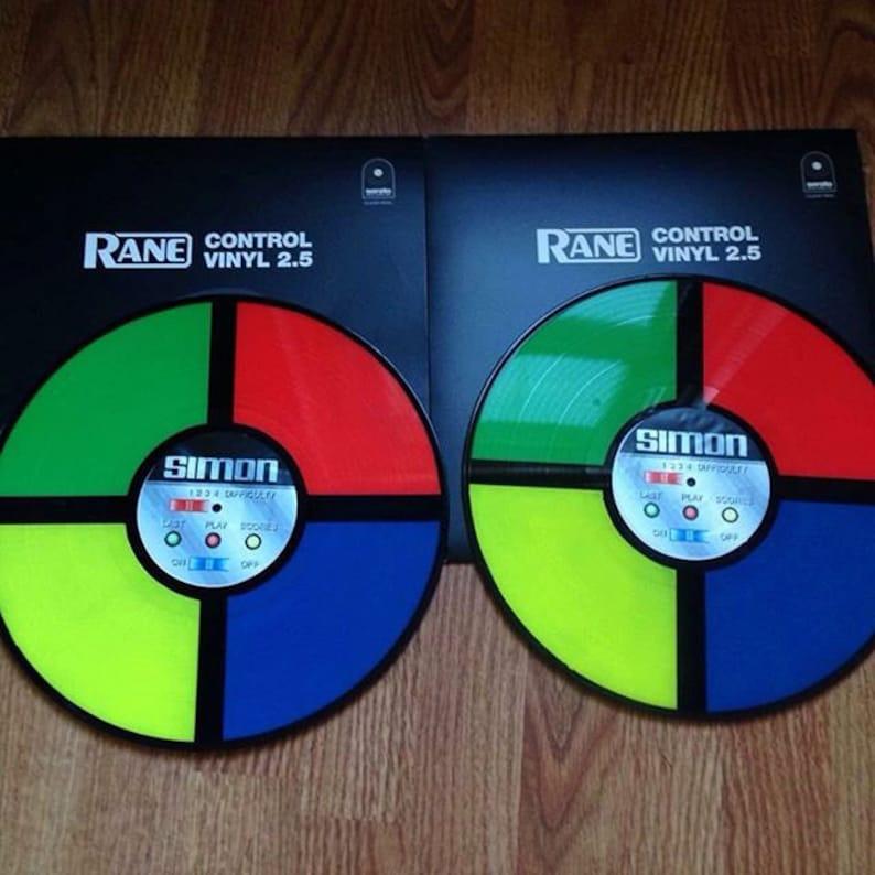 serato control vinyl custom
