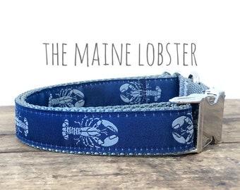 Lobster Martingale Lobster Dog Collar Martingale Dog Collar Lobster Dog Collar Lobsters Blue Lobster Martingale Collar