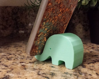 Elephant Phone Stand, Phone Holder Many Colors