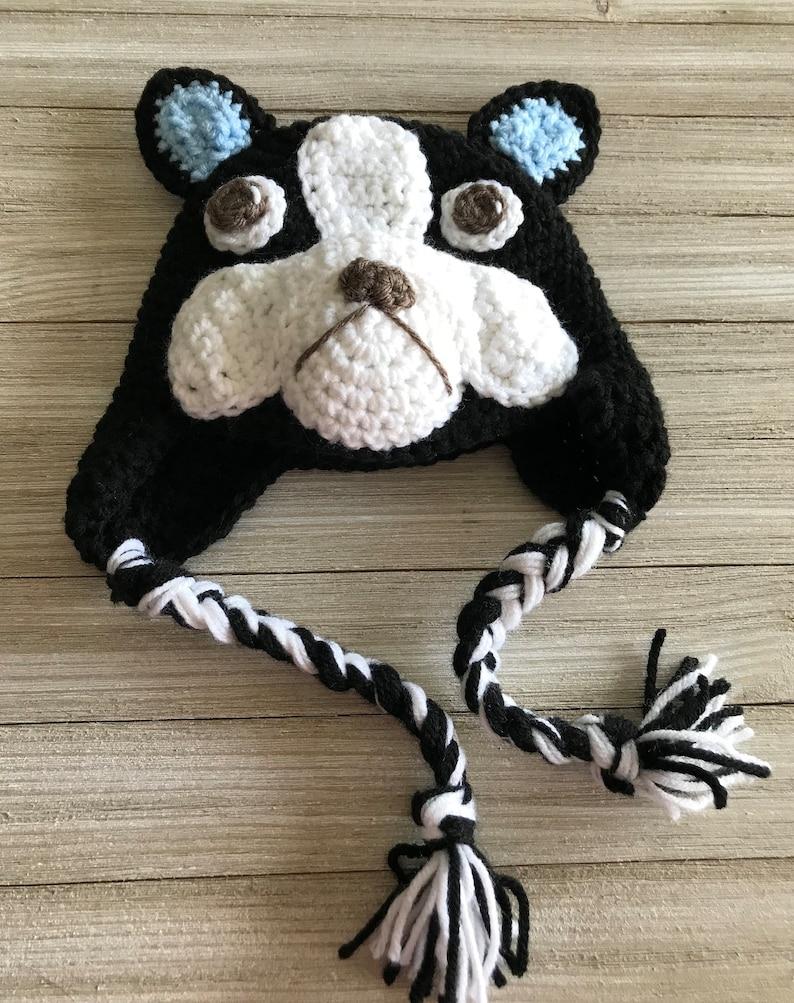 25f04895751 Dog Hat Boston Terrier Hat French Bulldog Hat Baby