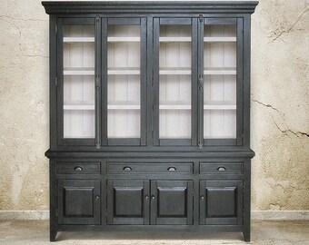 Sideboard, Hutch, Display Cabinet, Bookcase, Reclaimed Wood, Cupboard, Handmade