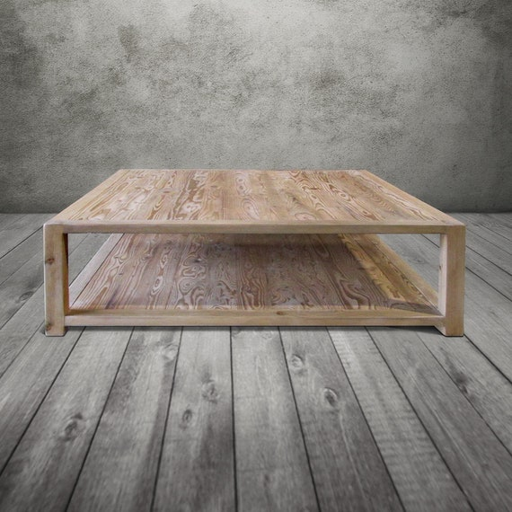 Coffee Table Wood Table Reclaimed Wood End Table Console