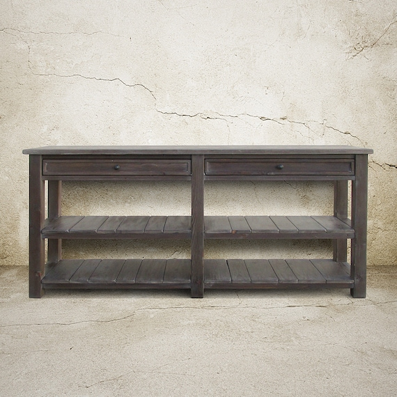 Table Console Table Media Console Reclaimed Wood Tv Stand Etsy
