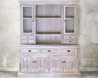 Sideboard, Hutch, Reclaimed Wood, Buffet, Handmade, Rustic