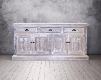 Sideboard, Buffet, Console Cabinet, Reclaimed Wood, Rustic, China Cupboard, Handmade