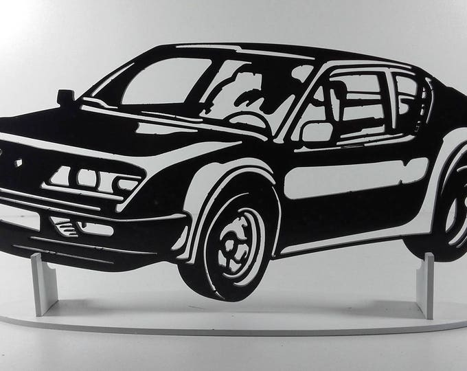 decoration plate teaches in metal ALPINE A310 PACK GT