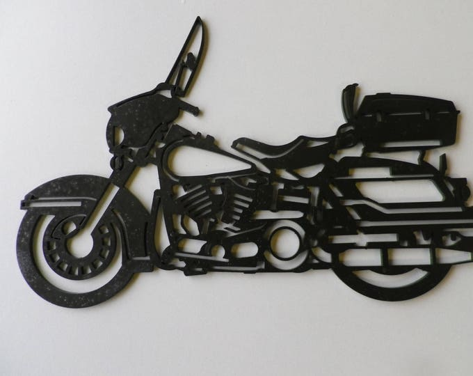 Plaque painted iron shop sign HARLEY DAVIDSON