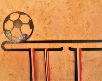Hanging Medal on the football theme