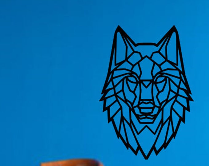 plaque signs painted wolf's tete