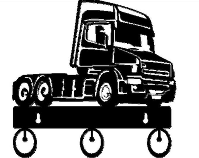 SCANIA truck shaped coat rack