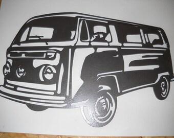 Plate teaches combi Volkswagen BAY WINDOW