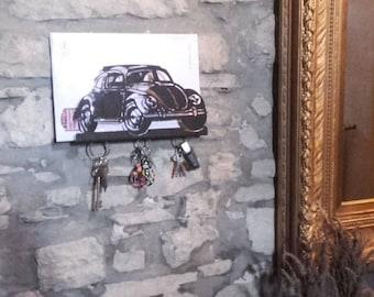 Documents, hanging key holder